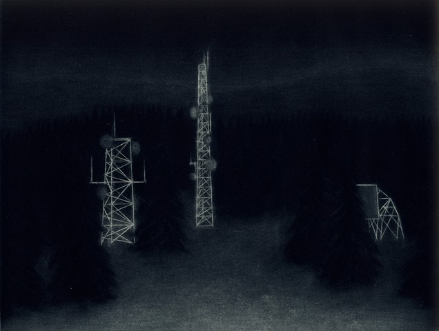 Mountain Radio Towers