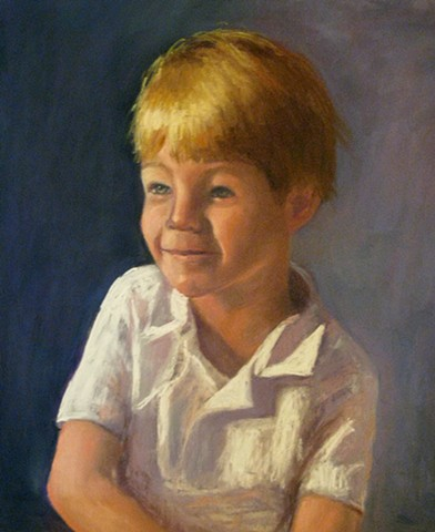 commissioned portrait of Holden Easterling, Austin, TX