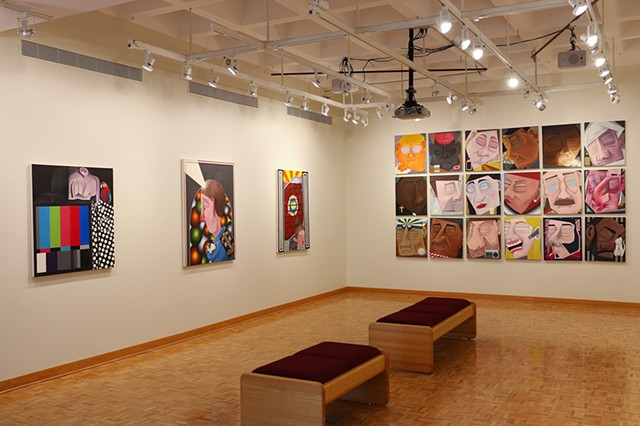 Installation shot, Mercer Gallery, SUNY Monroe Community College, Rochester, NY