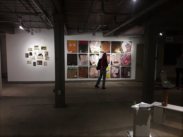 Installation shot, Collar Works Gallery, Troy, NY