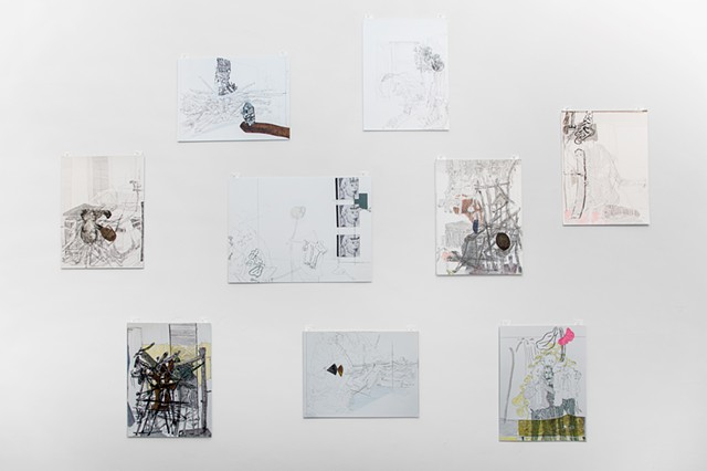 Openings to Further Enclosures   Installation View