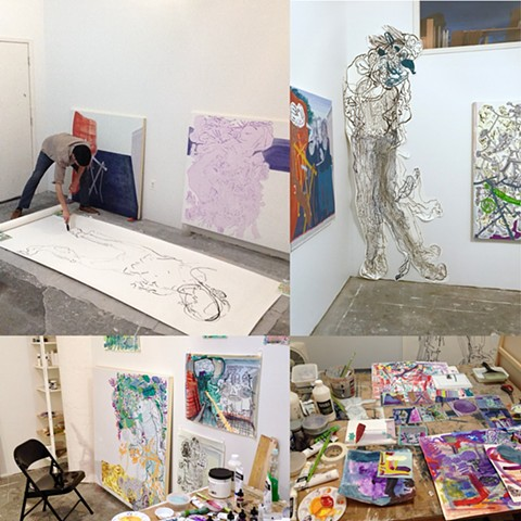 Liquitex Cadmium-Free Research Residency at Residency Unlimited -  August 1st - September 15th 2017
