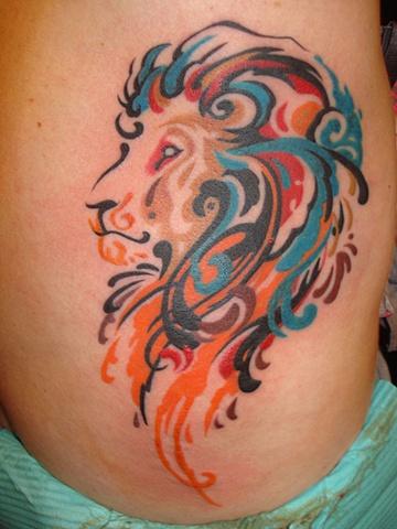 Psychadelic Lion