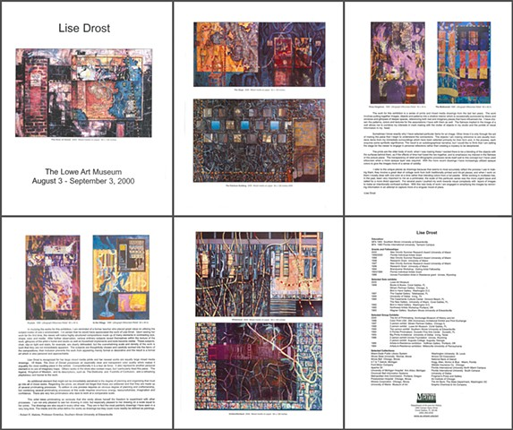 Lowe Art Museum Coral Gables, Florida solo exhibition catalog 2000