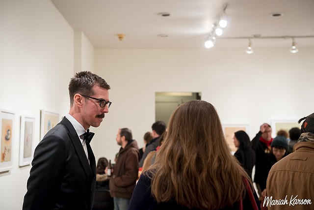 Photographs from my Firecat Projects Opening taken by Mariah Karson