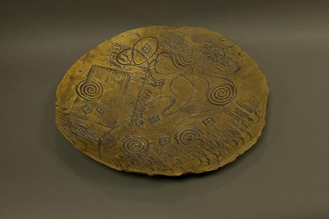 Ceramic: Cone 10 Stoneware Charger Originals