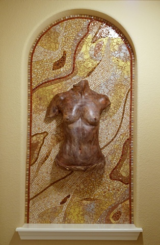Mosaic installation commission