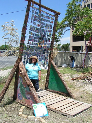 Austin green gates girl scouts connected mosaic