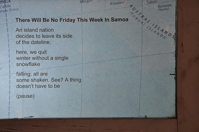 There Will Be No Friday This Week in Samoa - poem view 1