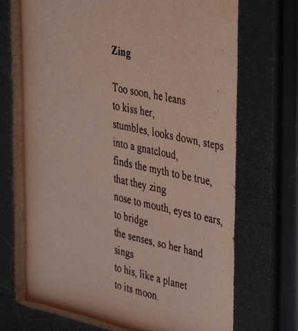 Zing - poem view