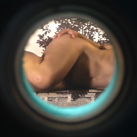Visitors (peephole view #1)