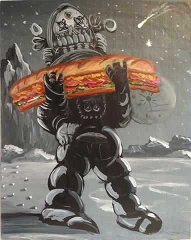 Forbidden Sandwich (Robby the Robot)