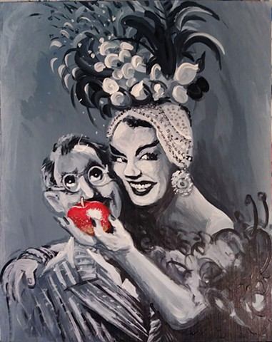 Forbidden Fruit (Carmen Miranda and Groucho Marx)