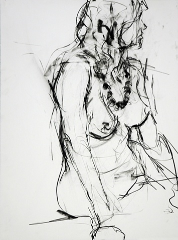 Allen Bentley drawing.  Figure drawing.