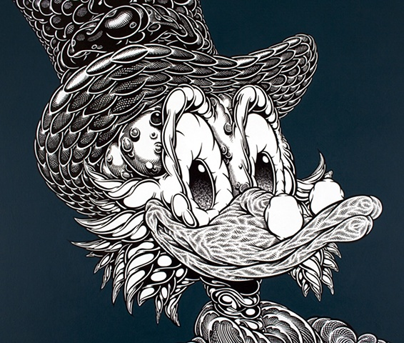Uncle Scrooge, 2010, detail