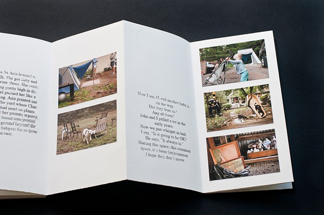 """Uncommon Ground"" Series Text and Photo Project - View of Book"
