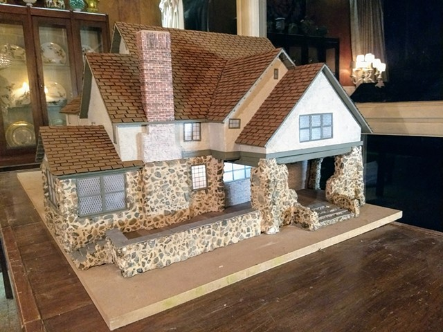Oval Road Essex Fells House Model