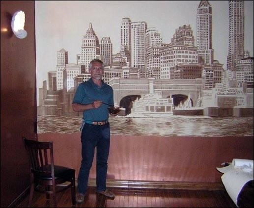 Wall Painting NYC 1914
