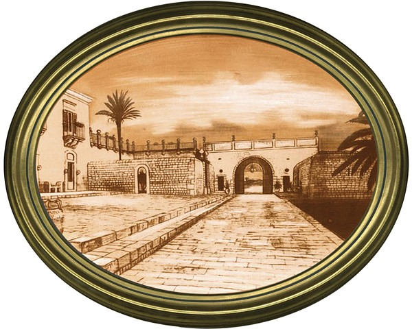 Marina di Ragusa Sicily Oval