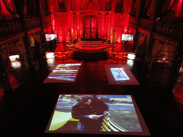 Angel Orensanz Foundation Video Installation