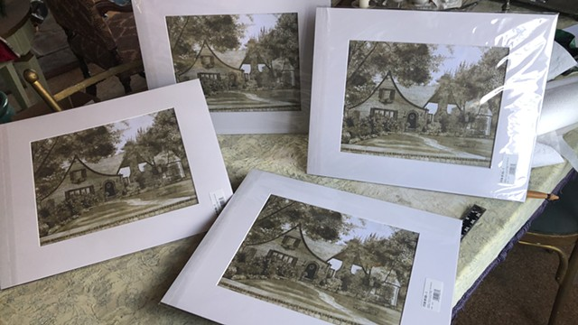 House Portrait Prints