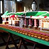 Rutherford Train Station Gingerbread House