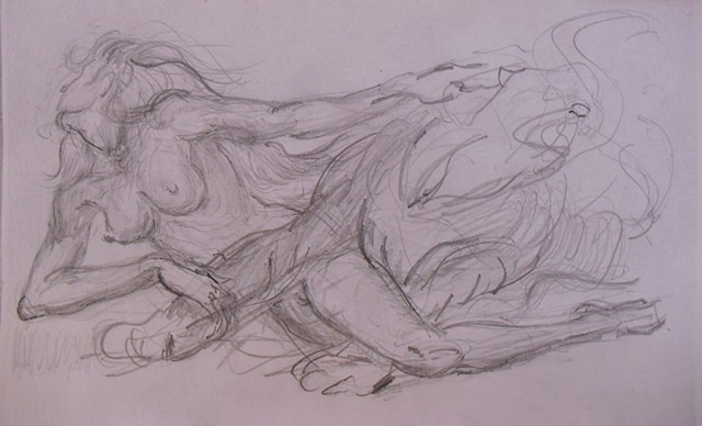 Thumbnail sketch for future painting