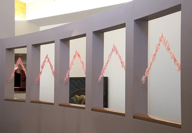 Blush, site-specific installation