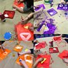 Shape Shifters Collaborative project with Clayton Elementary April 2019