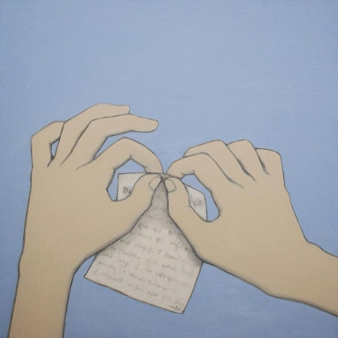 Two Hands, One Piece of Paper