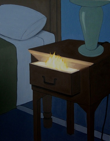 Fire in the Bedside Table