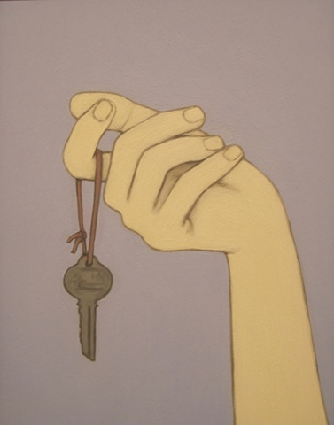 Hand and Key   (SOLD)