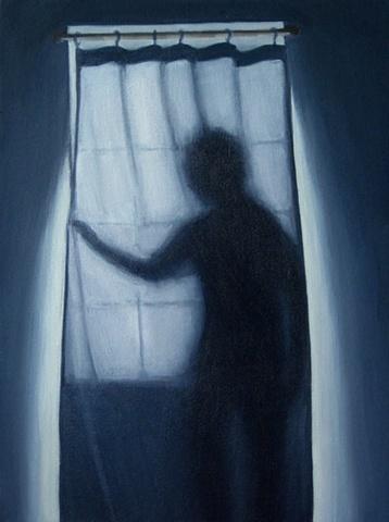 Boy Behind the Curtain