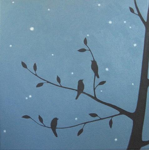 One Tree, Three Birds  (SOLD)