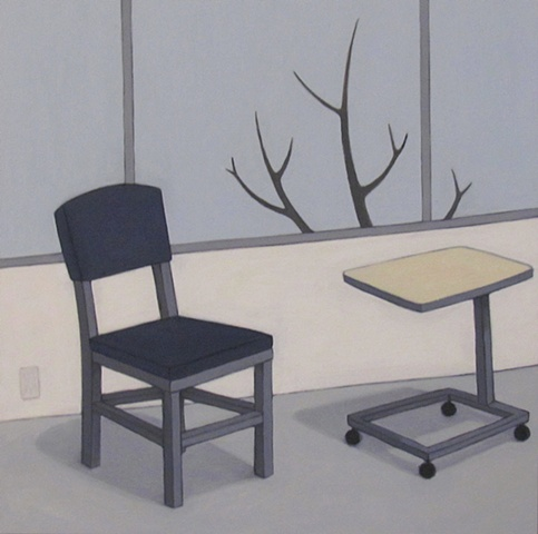 Chair, Table, Tree - After