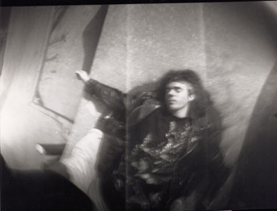 Pinhole photo of me, taken by someone else