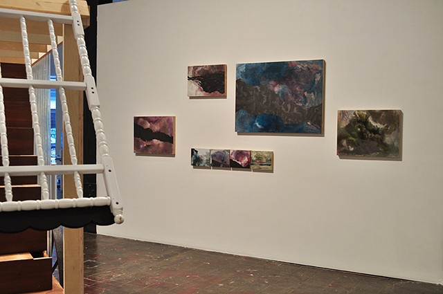 "Install View ""Mountain and the Bumble Bee"" SPACE Pittsburgh"