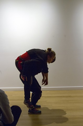The Arm Collector (performance view), photo credit: Kyungmin Ko