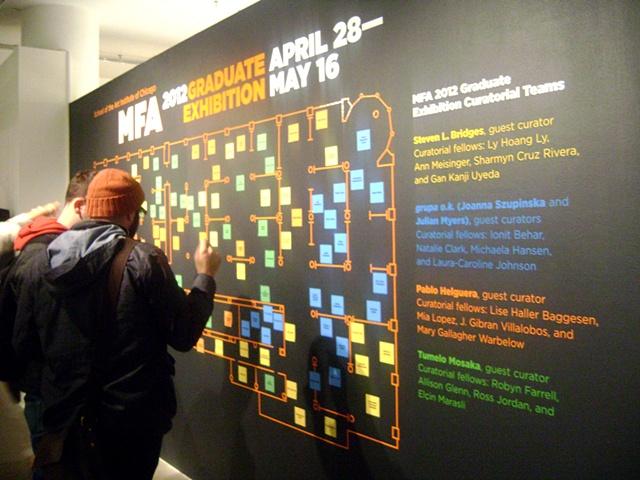 School of the Art Institute of Chicago, MFA 2012 Graduate Exhibition
