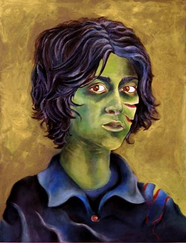 Painting by Elcin Marasli