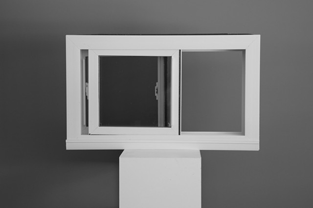 Opened Window = Mirror