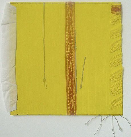 yellow thread lace minimalist