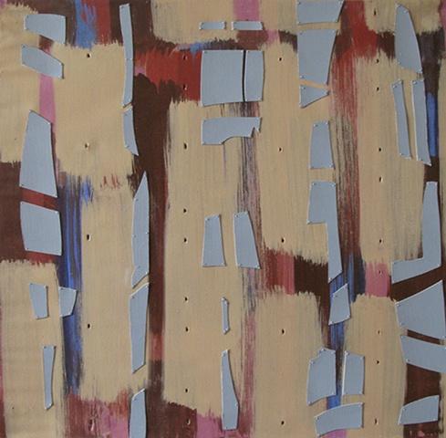 rhythm pattern brushmarks abstract nature