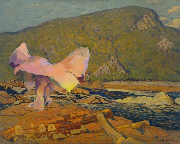 Stranger in a Strange Land 3 (JEH MacDonald Logs on The Gatineau, 1915)