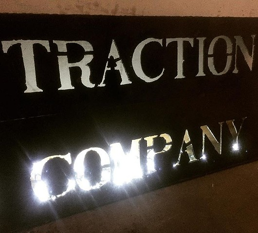 Traction Company sign
