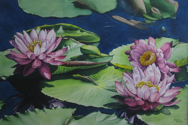 Waterlilies-Unframed