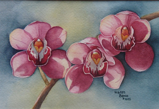 Orchid Pink Trio-Framed