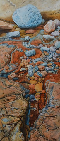 Rocky Pools-Paintings