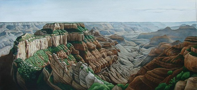 North Rim-Unframed