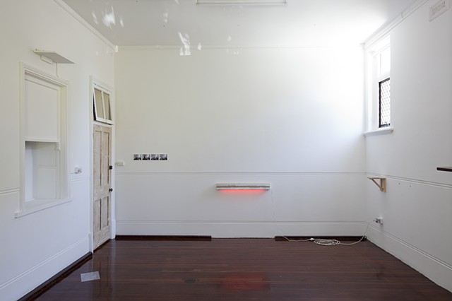 Doing Nearly Nothing (installation view)
